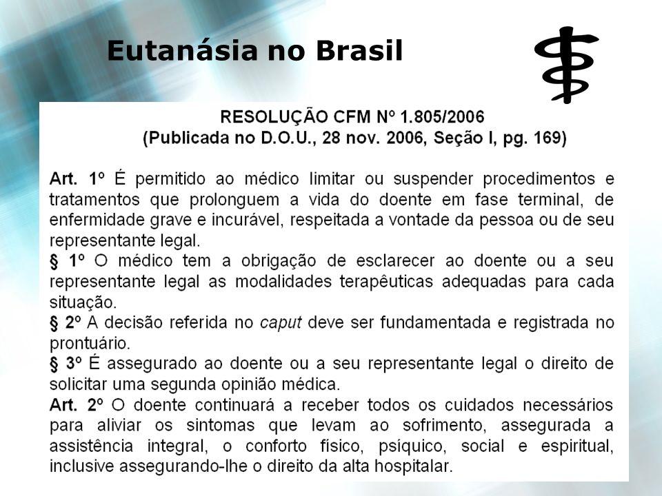 13 Eutanásia no Brasil