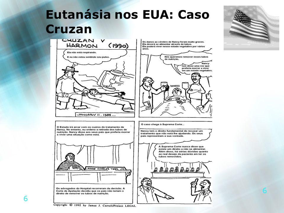 6 6 Eutanásia nos EUA: Caso Cruzan