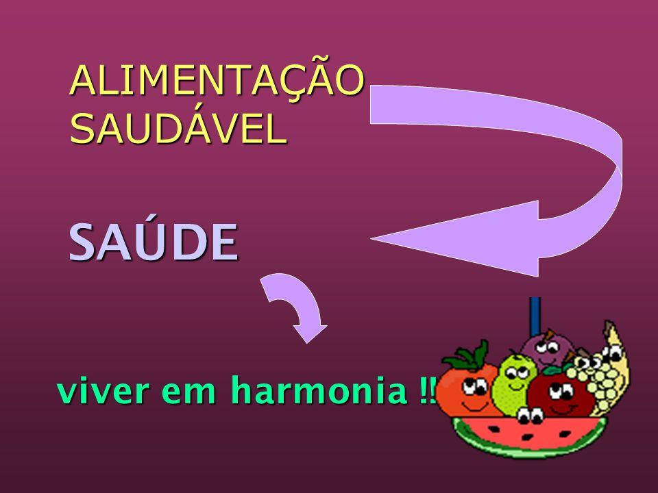 SAÚDE SAÚDE viver em harmonia !!! ALIMENTAÇÃO SAUDÁVEL
