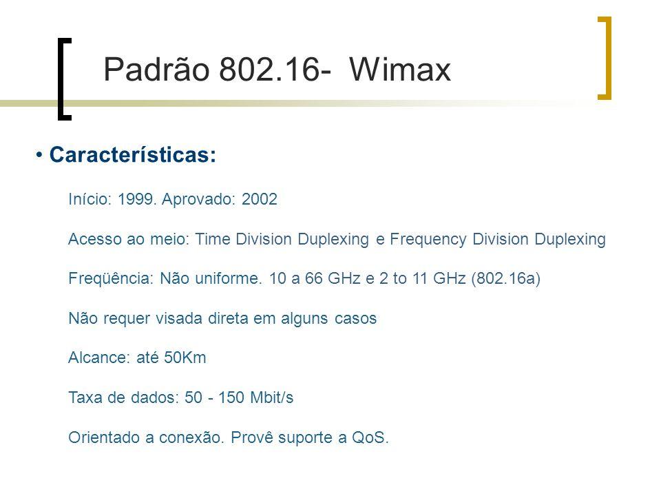 Características: Início: 1999.