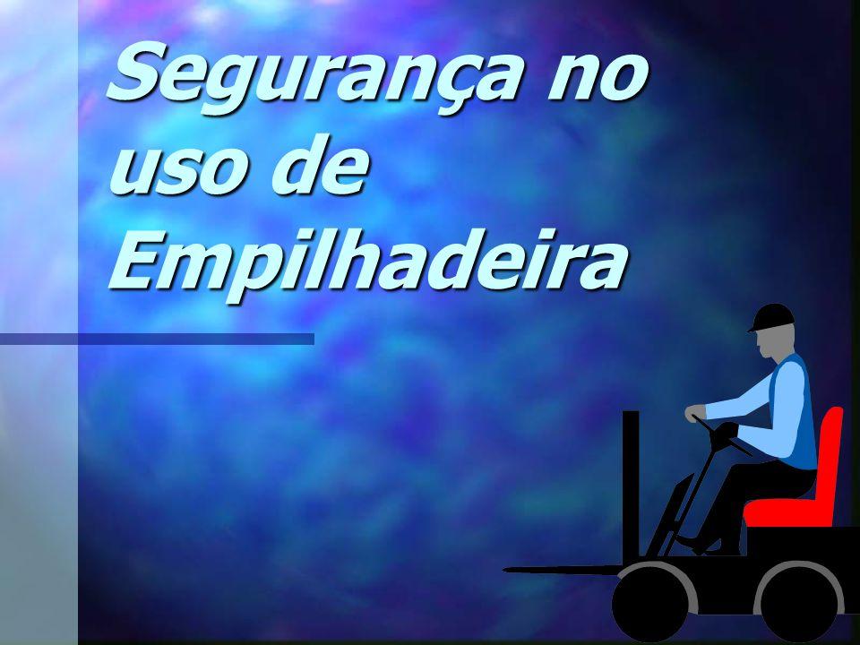 Edson Donizetti da Silva - TST - São Carlos - SP Capotamento NÃO MOVIMENTE A EMPILHADEIRA COM OS GARFOS ELEVADOS A empilhadeira pode capotar se for operada de uma maneira inadequada.