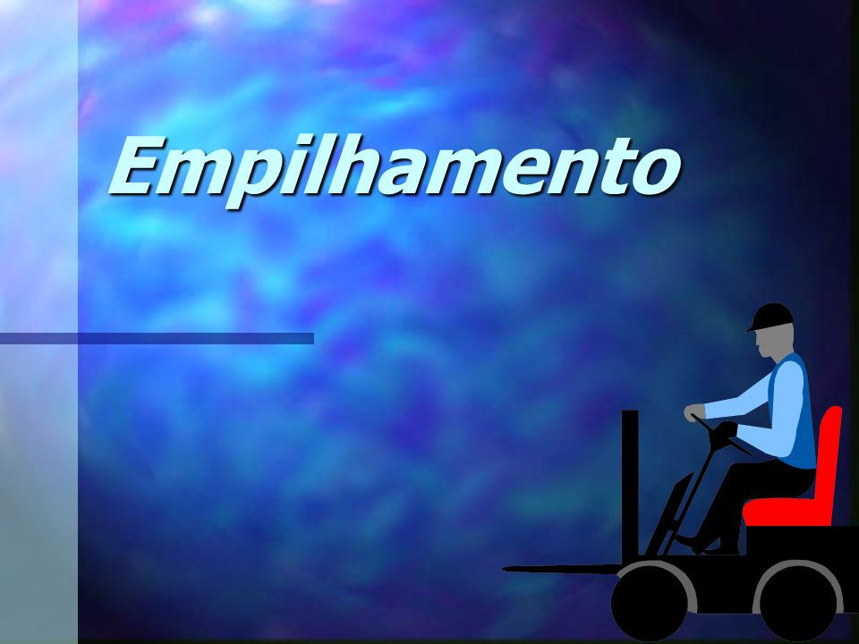 Edson Donizetti da Silva - TST - São Carlos - SP Regras Gerais IMPORTANTE Mantenha-se totalmente dentro da empilhadeira! Nunca coloque os braços, as m