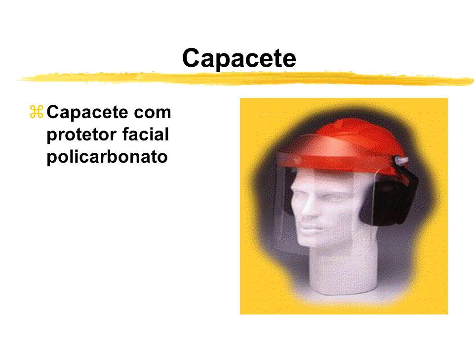 Capacete zCapacete com protetor facial policarbonato