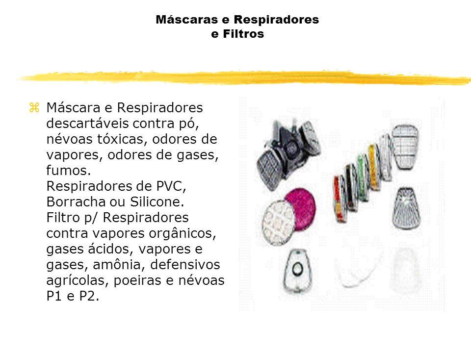 Máscaras e Respiradores e Filtros zMáscara e Respiradores descartáveis contra pó, névoas tóxicas, odores de vapores, odores de gases, fumos. Respirado
