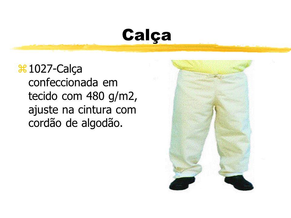 Calça z1027-Calça confeccionada em tecido com 480 g/m2, ajuste na cintura com cordão de algodão.