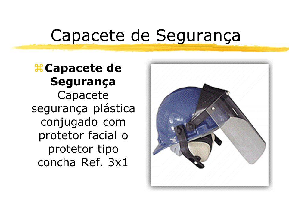 Capacete de Segurança zCapacete de Segurança Capacete segurança plástica conjugado com protetor facial o protetor tipo concha Ref. 3x1