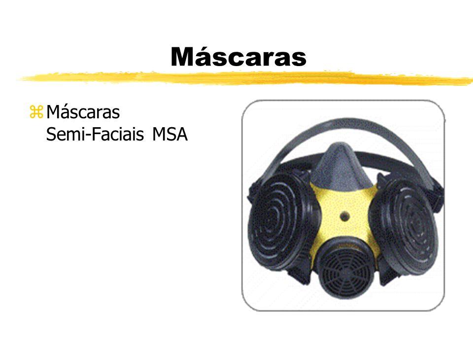 Máscaras zMáscaras Semi-Faciais MSA