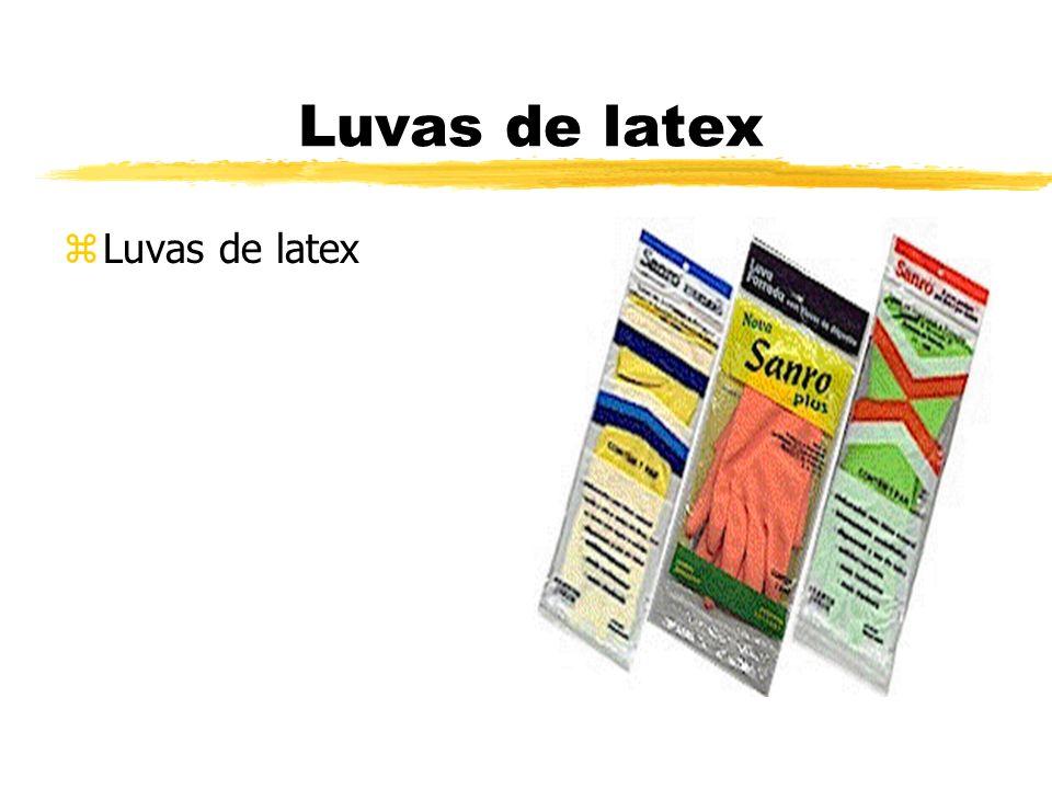 Luvas de latex zLuvas de latex