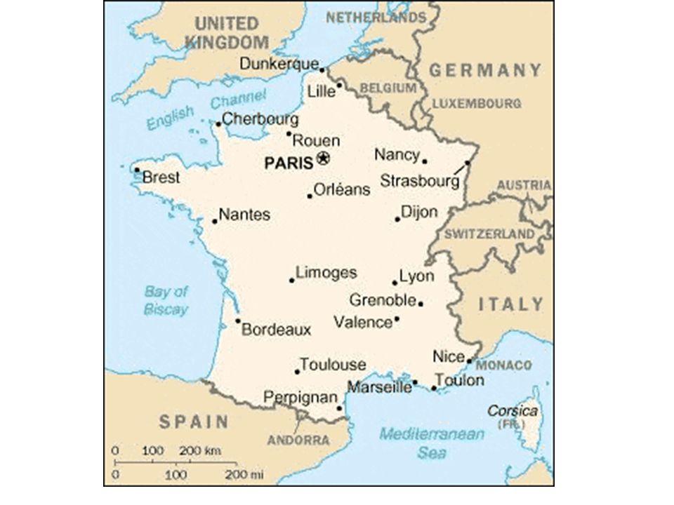 Industrialização na França: Na França as áreas industriais estão espalhadas por todo o território, graças ao bem estruturado sistema de transportes e incentivos governamentais.