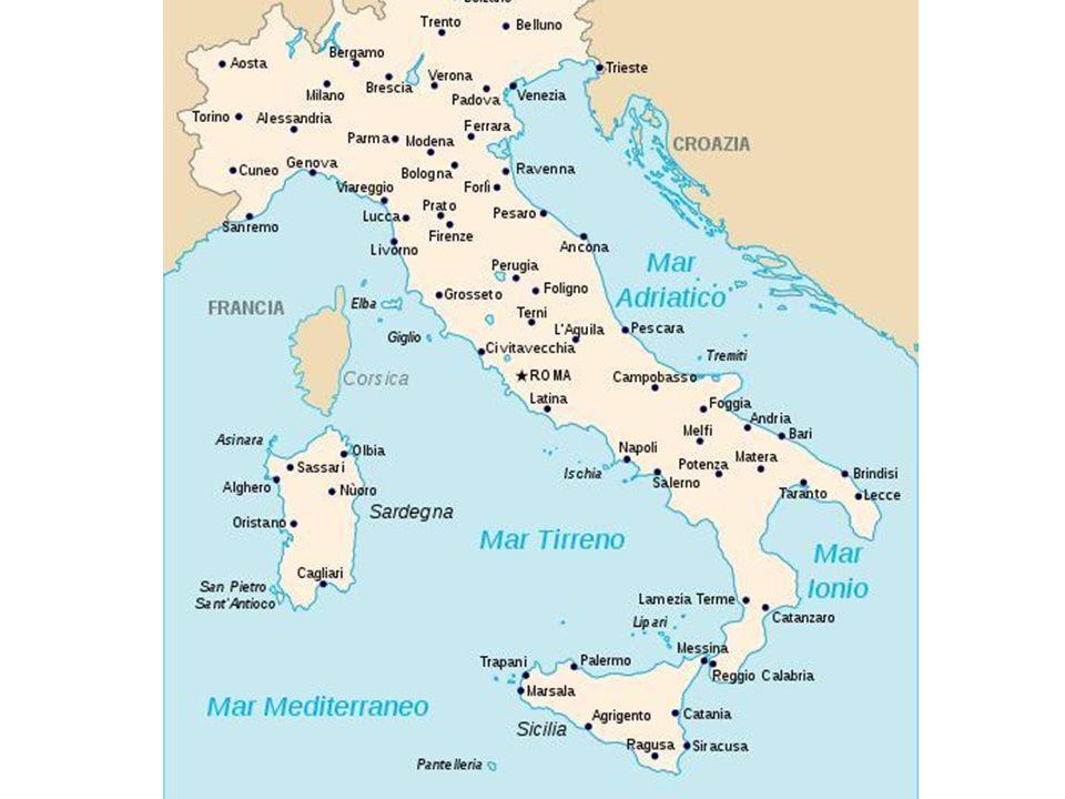 Itália A indutrialização na Italia se concentrou na região Norte do país, por 2 motivos: Natural: região rica em energia hidrelétrica.