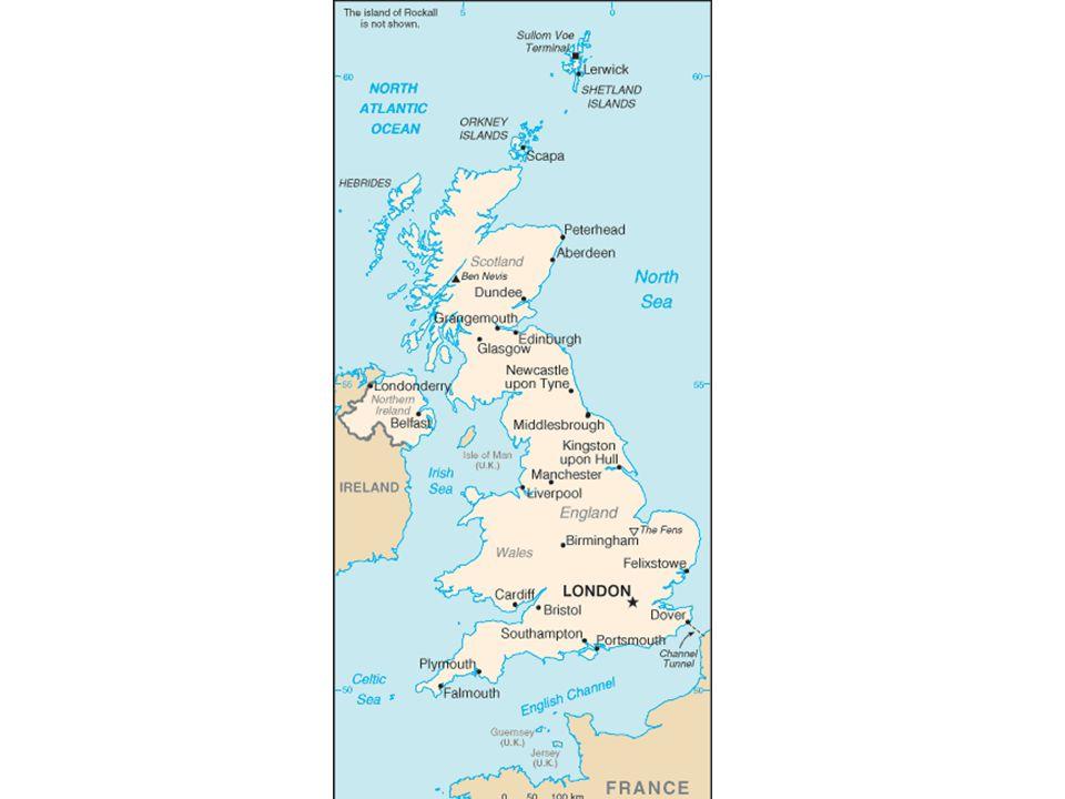 Reino Unido O país liderou a economia mundial da Revolução Industrial( sec XVIII) até a 2º Guerra Mundial( 1945).