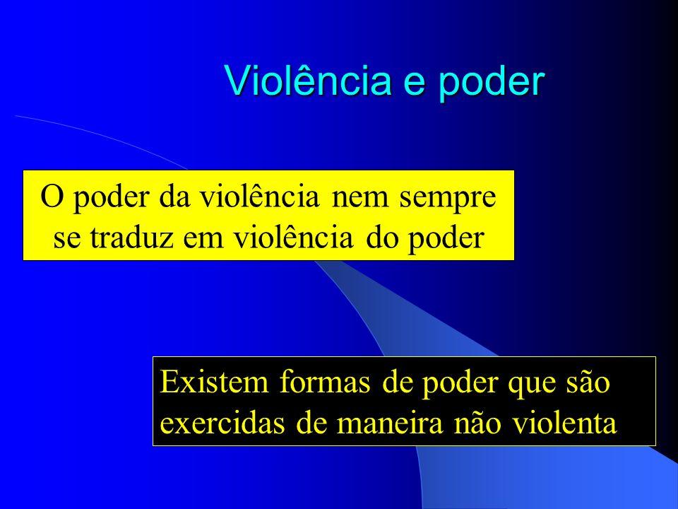 A violência e a questão da moralidade A violência pode ser considerada como um ato moralmente negativo, mas nem todo ato moralmente negativo se caract