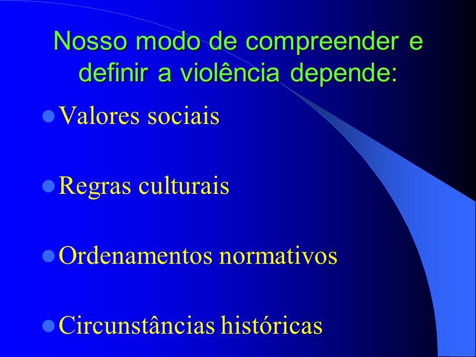 A desigualdade social é um fator predisponente e, em alguns casos, condicionante da violência, mas tudo depende do contexto, das relações intersubjeti
