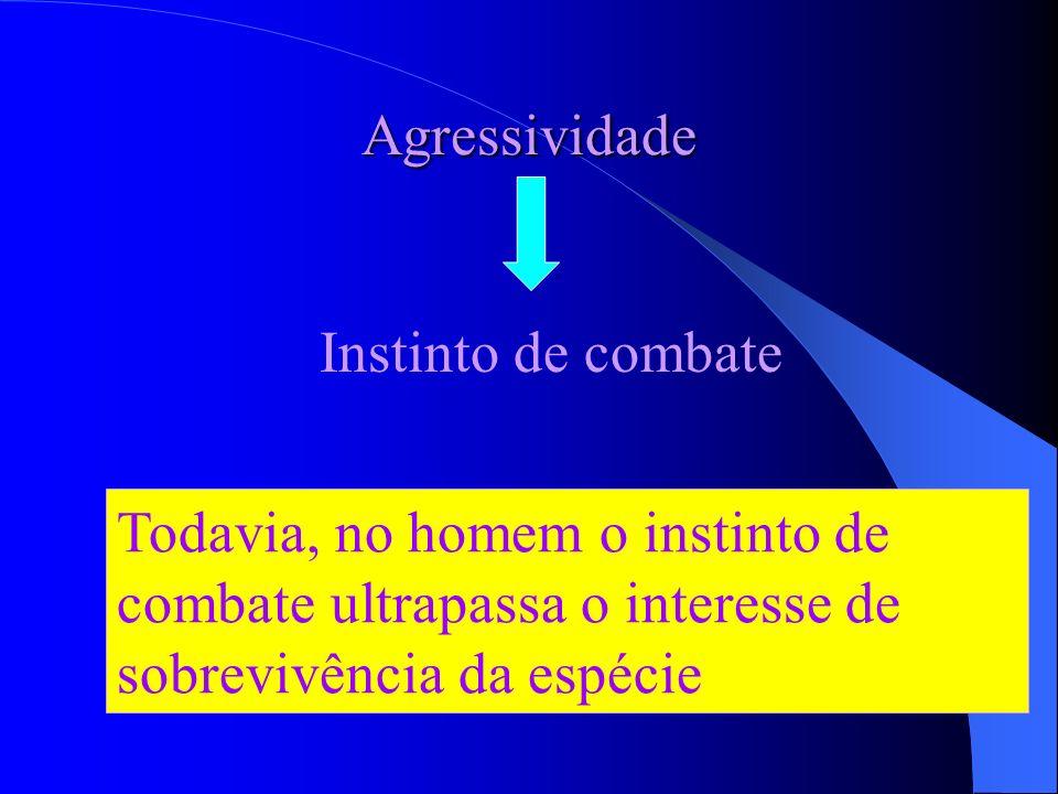 A violência não é diretamente proporcional ao acirramento da luta pela sobrevivência Existem muitos atos violentos destituídos de interesse de sobrevi