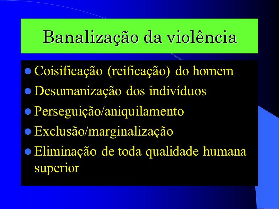 Cultura da violência Violência da cultura
