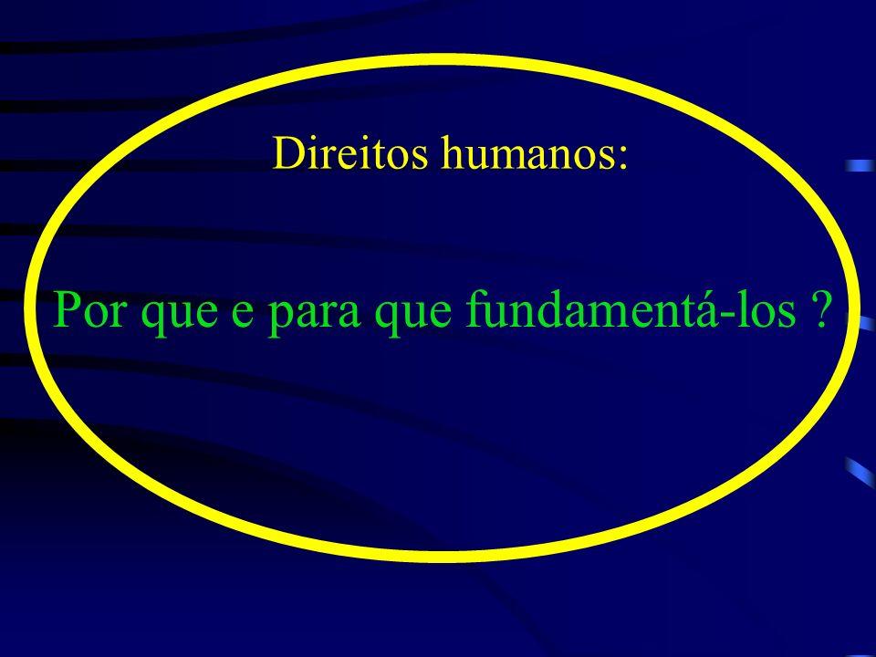 O respeito e a manutenção da dignidade humana constituem o cerne dos direitos humanos O respeito e a manutenção da dignidade humana constituem o cerne