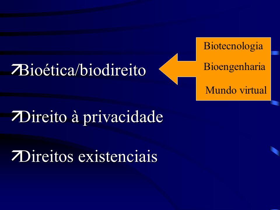 ä Desenvolvimento sustentável ä Direito à vida/dimensão planetária ä Direito das gerações futuras à vida Direitos de 4ª geração