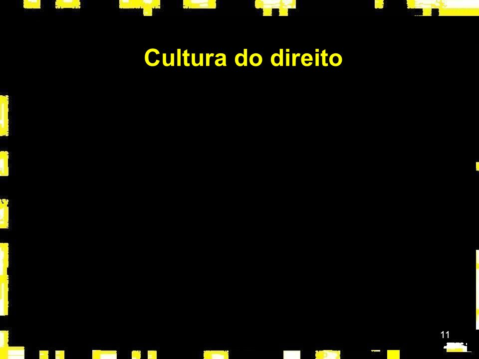 11 Cultura do direito