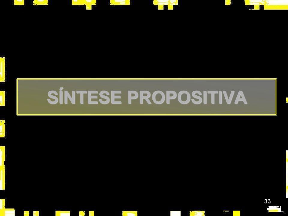 33 SÍNTESE PROPOSITIVA