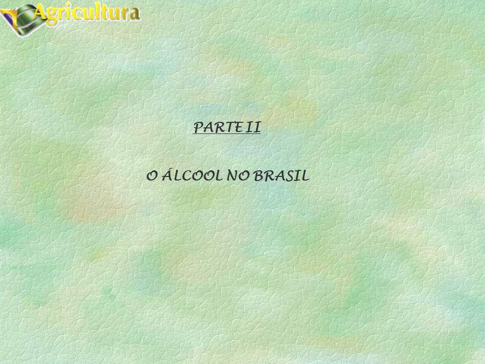 PARTE II O ÁLCOOL NO BRASIL