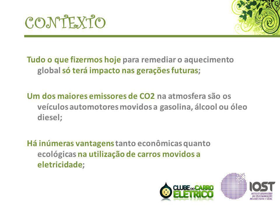 CONTEXTO Tudo o que fizermos hoje para remediar o aquecimento global só terá impacto nas gerações futuras; Um dos maiores emissores de CO2 na atmosfer