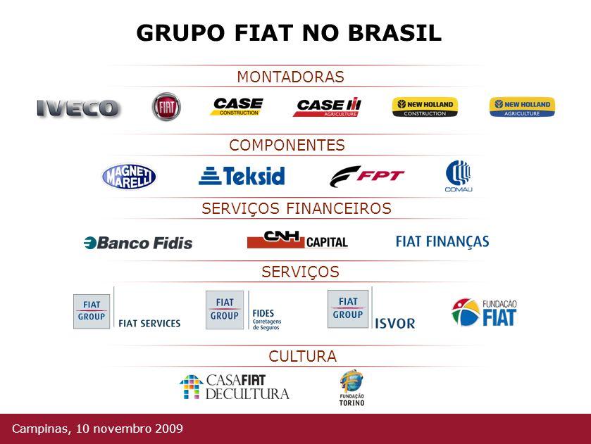 GRUPO FIAT NO MUNDO Campinas, 10 novembro 2009