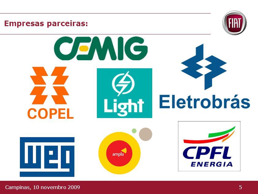 Objetivos: Desenvolver um automóvel elétrico no Brasil; Incrementar as atividades de pesquisa; Incentivar o parque fabril brasileiro na nacionalização
