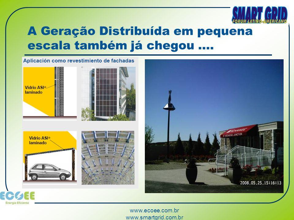 www.ecoee.com.br www.smartgrid.com.br A partir do uso em larga escala, os veículos tem incrível capacidade de armazenamento para as redes elétricas....
