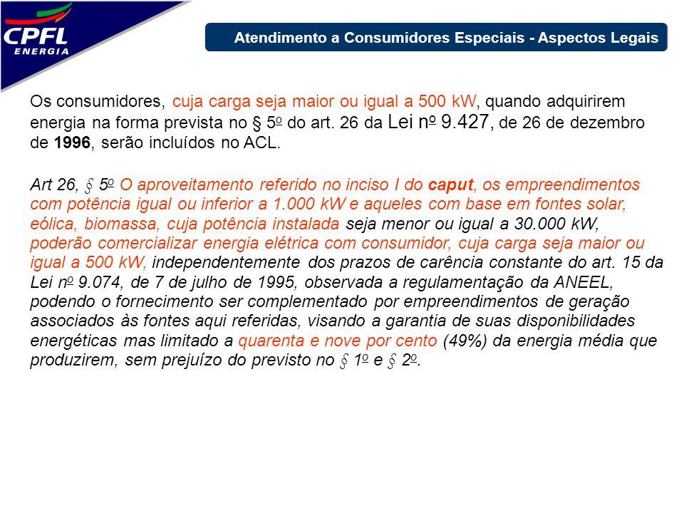 Art 26, § 5 o O aproveitamento referido no inciso I do caput, os empreendimentos com potência igual ou inferior a 1.000 kW e aqueles com base em fonte