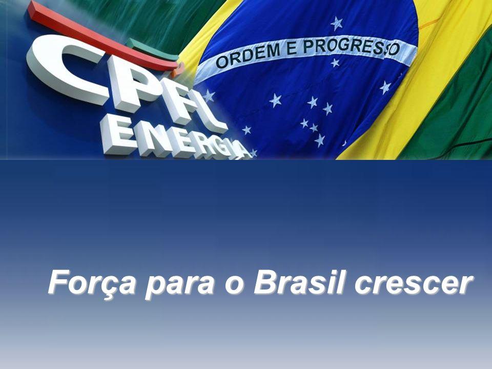 Força para o Brasil crescer