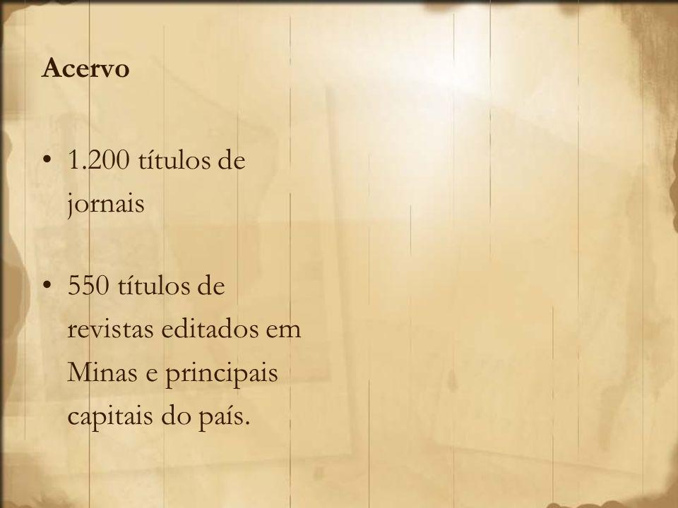 O Universal, foi editado em Ouro Preto, e era responsável pela publicação dos atos governamentais, em especial decretos, editais e leis.