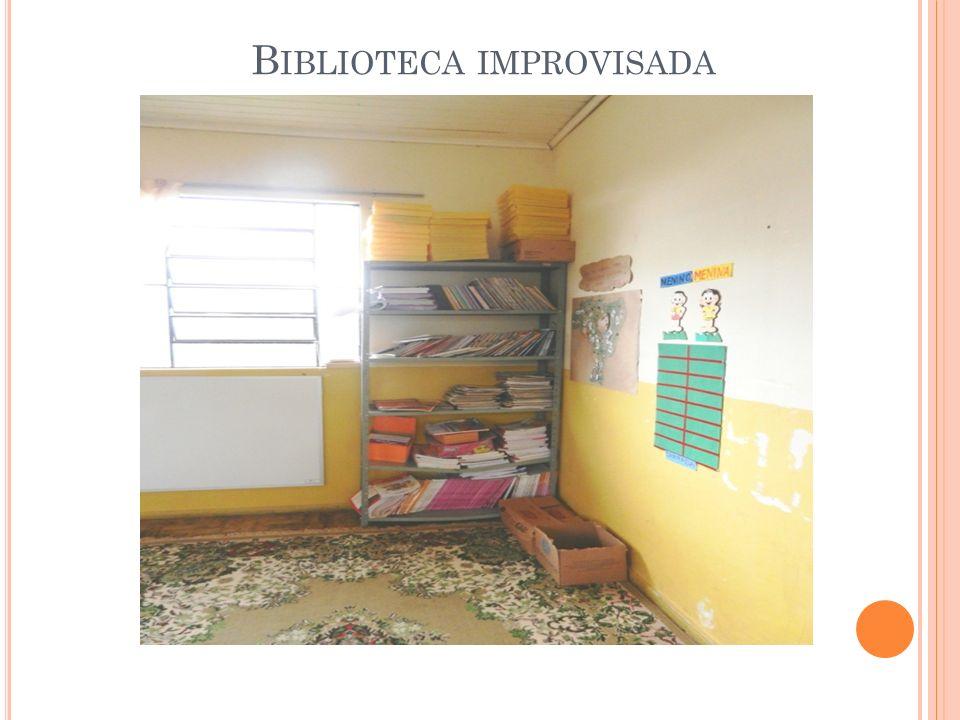 B IBLIOTECA IMPROVISADA