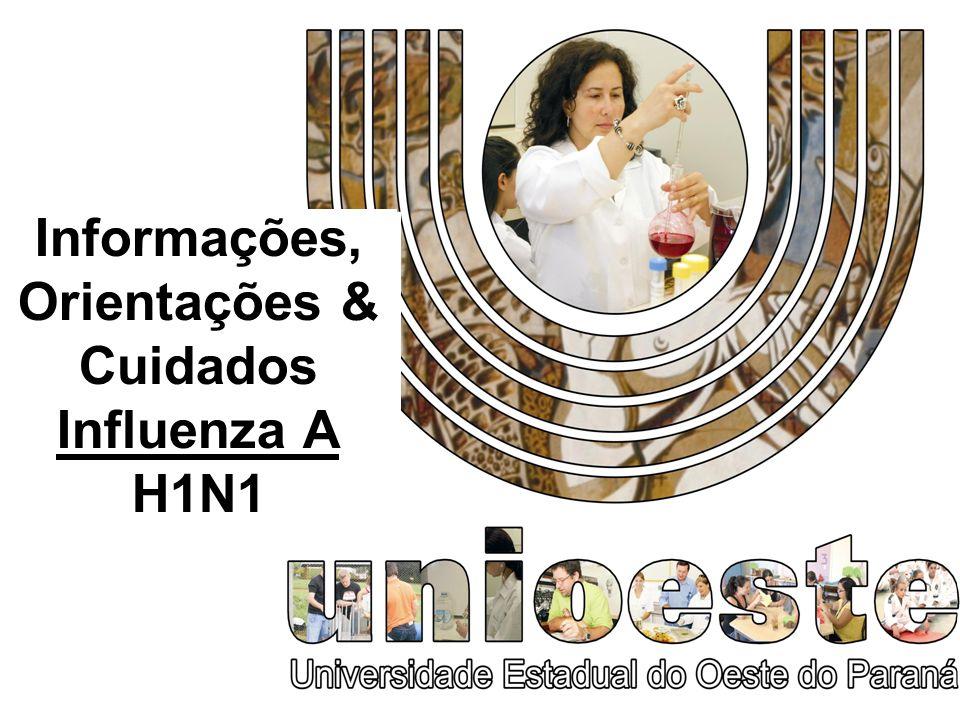 2008 Informações, Orientações & Cuidados Influenza A H1N1
