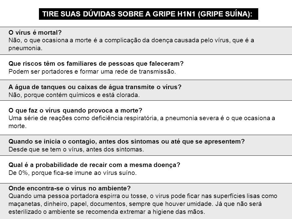 O vírus ataca mais as pessoas asmáticas.