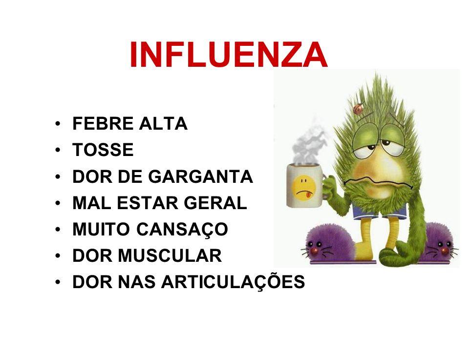 GRIPE sempre deve ser combatida AviáriaEstacional H1N1 suína SAZONAL