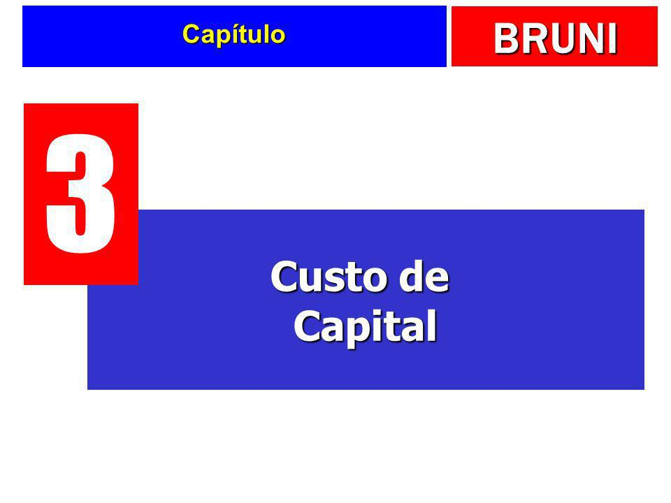 BRUNI Capítulo Custo de Capital 3