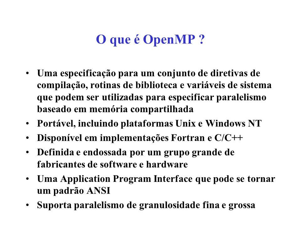 O que é OpenMP .