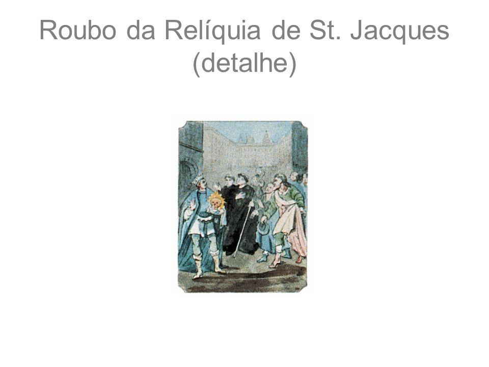 Roubo da Relíquia de St. Jacques (detalhe)