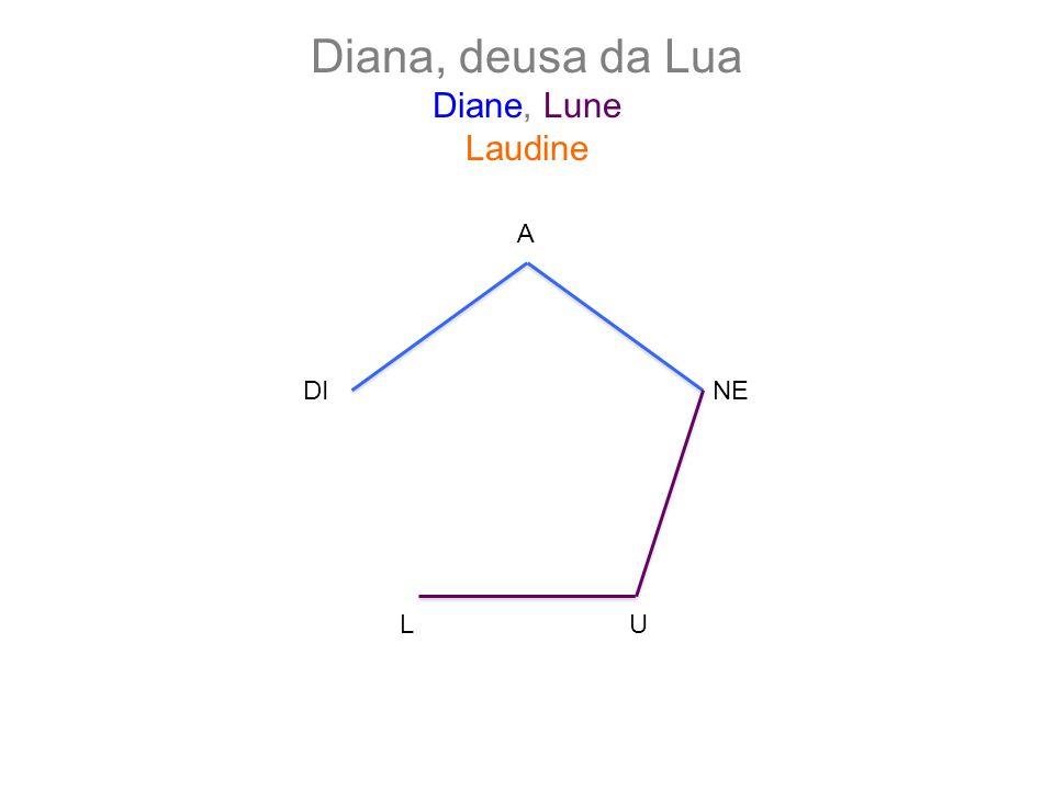 Diana, deusa da Lua Diane, Lune Laudine A LU NEDI
