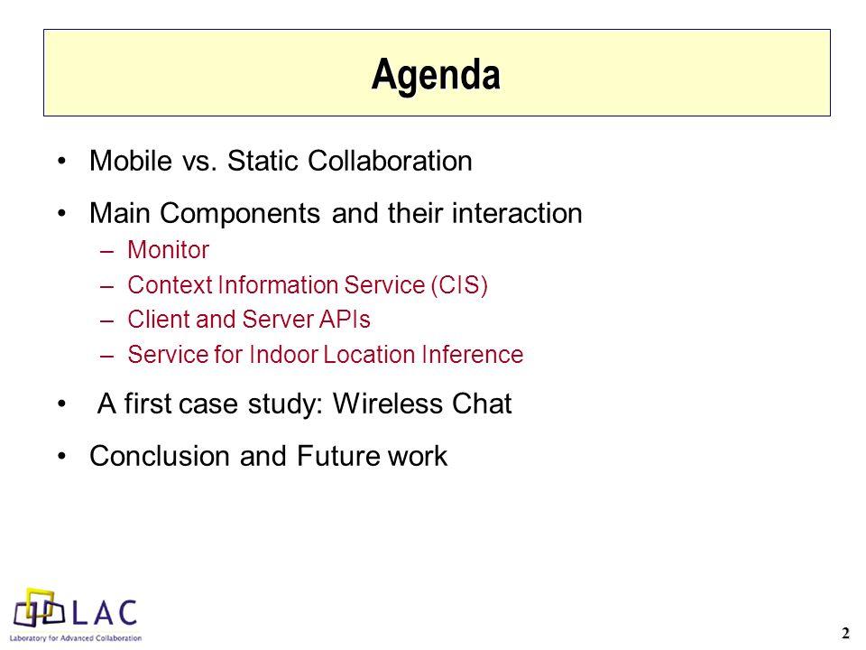 2 Agenda Mobile vs.