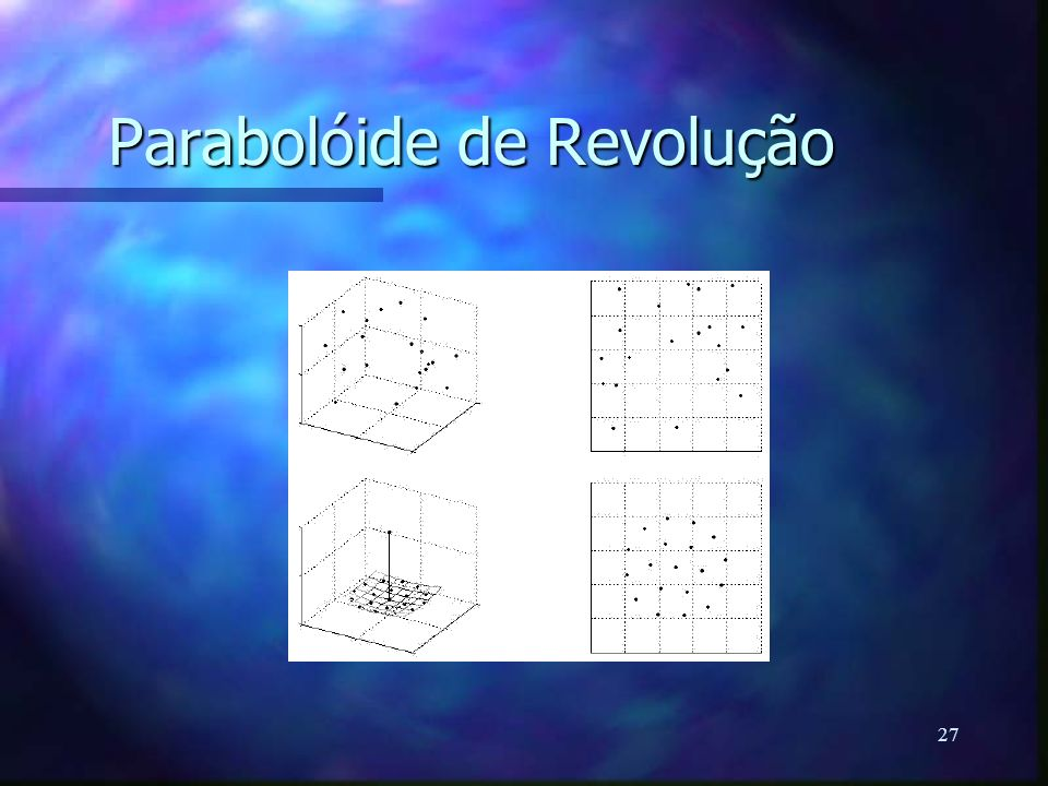 27 Parabolóide de Revolução