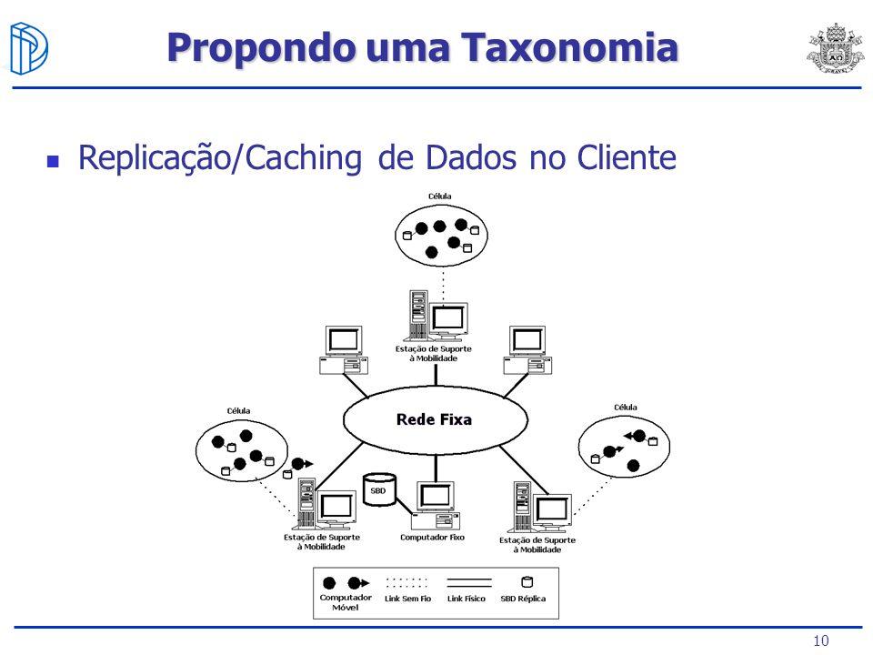 10 Replicação/Caching de Dados no Cliente Propondo uma Taxonomia