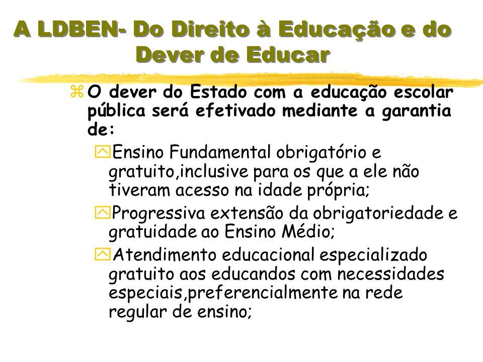 Gratuidade do Ensino público em estabelecimentos oficiais; x Valorização dos profissionais da Educação Escolar; x Gestão democrática do Ensino público