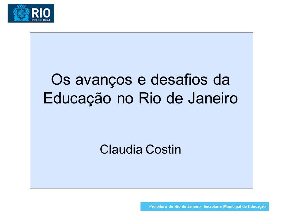 PROJETO 2- AÇÃO: REFORÇO ESCOLAR LÍNGUA PORTUGUESA E MATEMÁTICA Quantitativo por disciplina /CRE Prefeitura do Rio de Janeiro- Secretaria Municipal de Educação