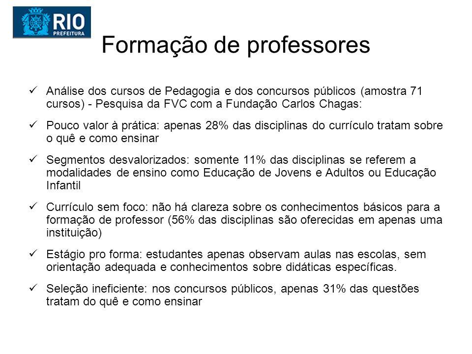 Educação no Rio de Janeiro IDEB bom para níveis do Brasil Mas, notas do Prova Brasil caíram em Língua Portuguesa na 4ª.