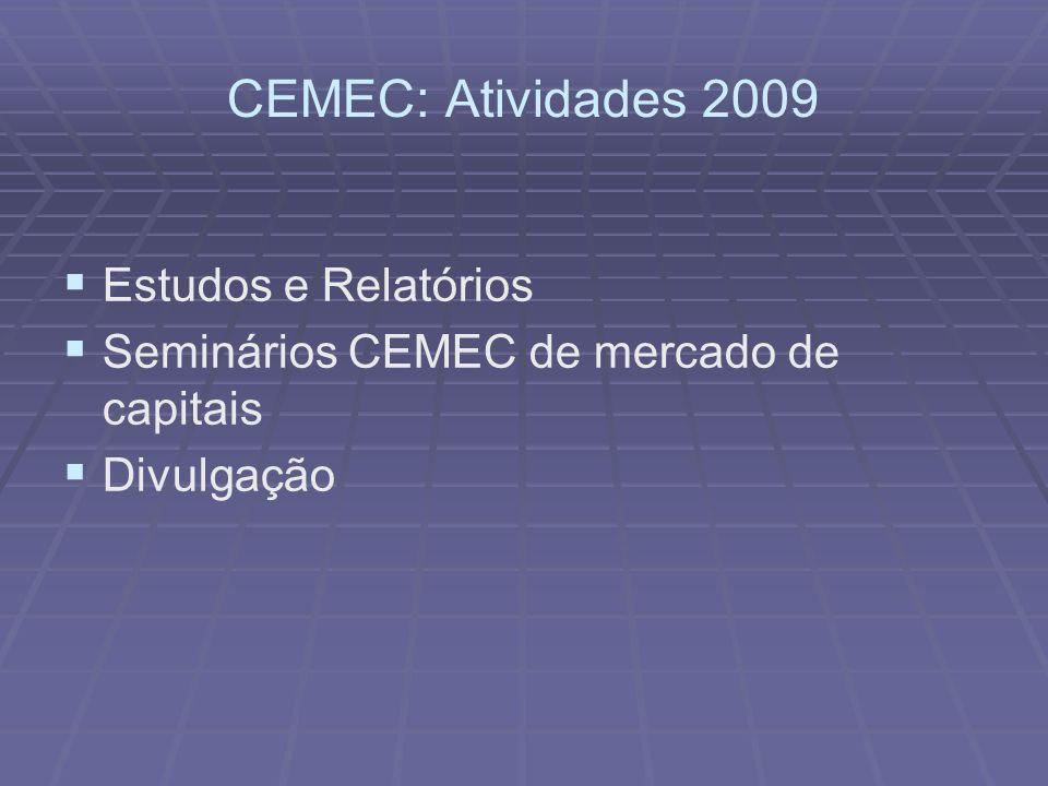 Taxas de Crescimento do Exigível Financeiro Total (Trimestral) 57 Versão preliminar - Material de uso exclusivo da equipe CEMEC
