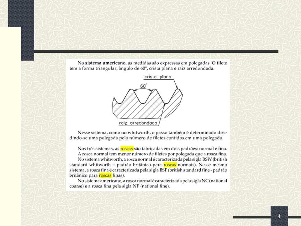 Cálculo do diâmetro da broca 5
