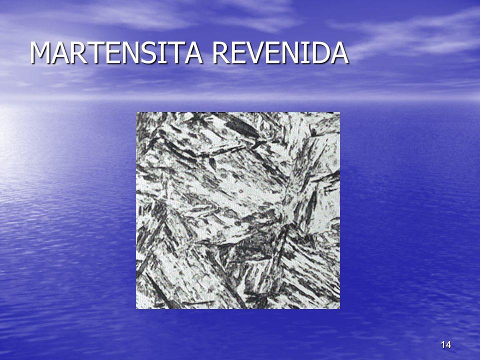 14 MARTENSITA REVENIDA