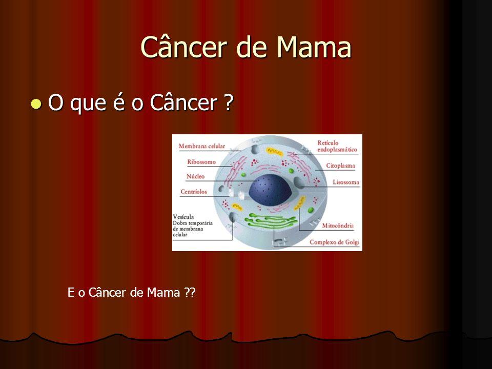 Mamografia Primeira aos 35 a Primeira aos 35 a Anualmente a partir dos 40 anos para mulheres sem história familiar Anualmente a partir dos 40 anos para mulheres sem história familiar 10 anos antes da idade do paciente índice 10 anos antes da idade do paciente índice