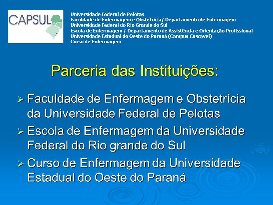 Faculdade de Enfermagem e Obstetrícia da Universidade Federal de Pelotas Faculdade de Enfermagem e Obstetrícia da Universidade Federal de Pelotas Esco